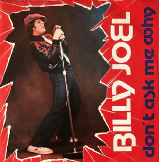 "Billy Joel ‎- Don't Ask Me Why (7"") (VG/VG-)"
